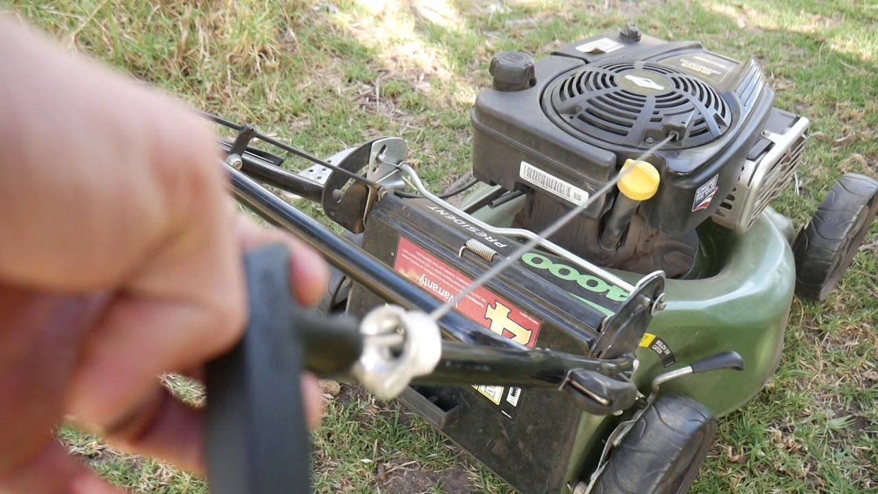 How To Easily Fix Lawn Mower Grinding Noise