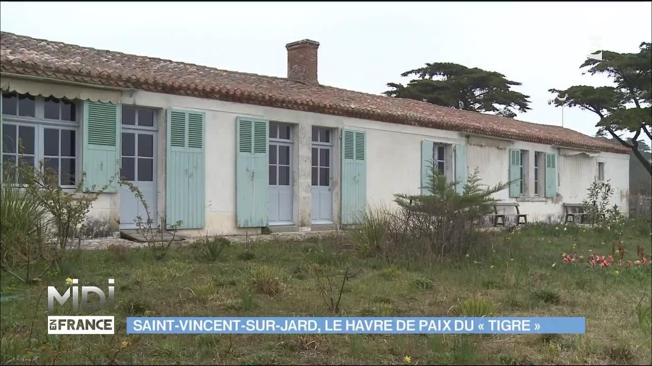 Maison de georges clemenceau saint vincent sur jard for Garage clemenceau le havre