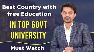 Best Country for Free Education - 100% Scholarship - Without IELTS | Study Abroad for free 2021