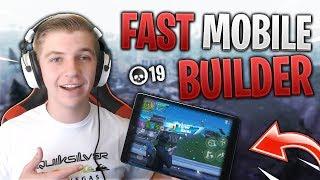 FAST MOBILE BUILDER on iPad // 555+ Wins // Fortnite Mobile Gameplay Tips & Tricks