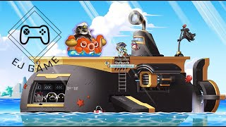 【ONLINE GAME】 Maple Story- Captain Black Slime Walkthrough (Gold Beach Boss)