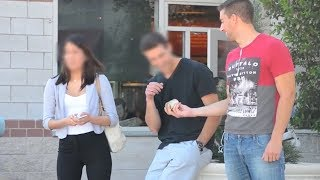 BUYING STRANGERS GIRLFRIEND with MONEY!