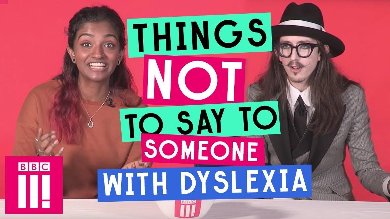 how to explain dyslexia to someone