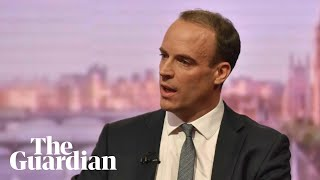 Raab's message to Tories on Brexit and May's leadership: 'We need to hold our nerve'