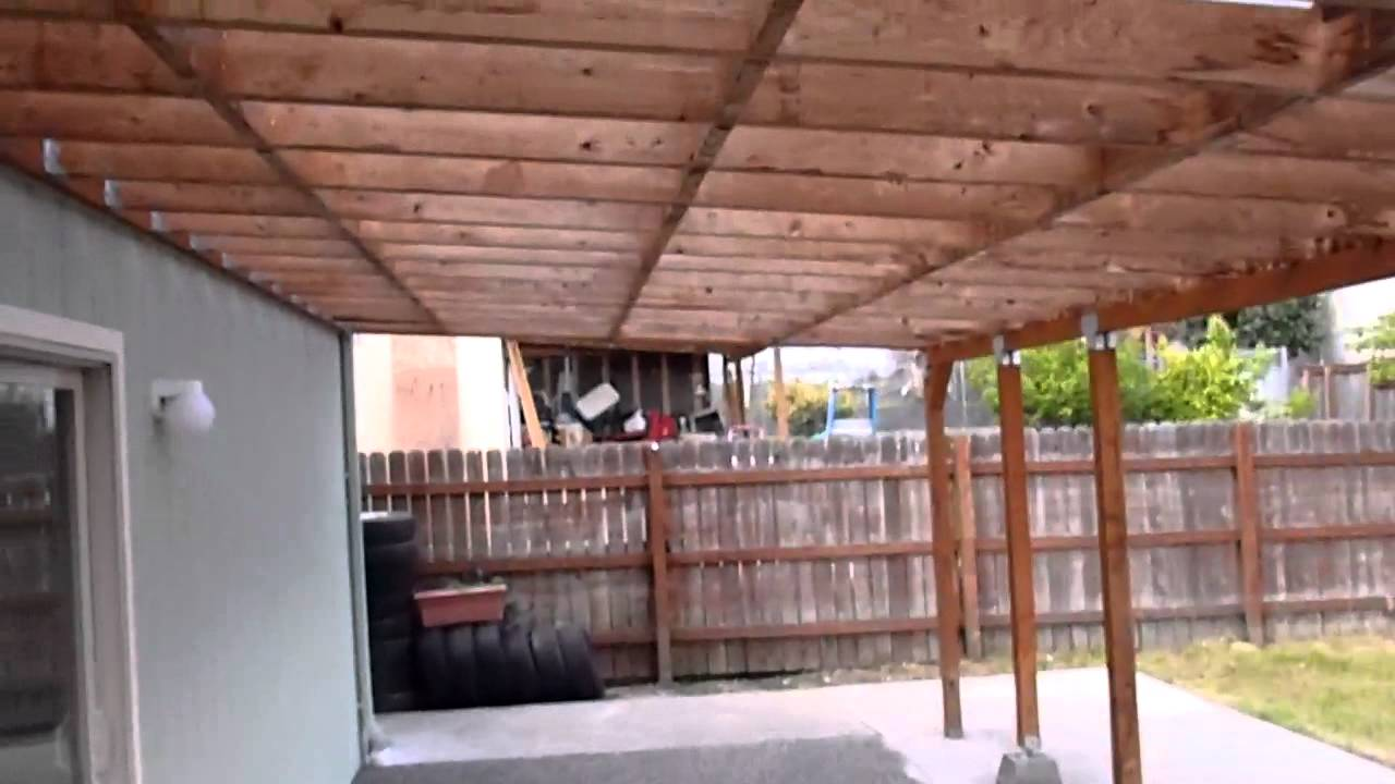 Home Inspector Seattle WA Explains Patio Cover | (425) 207 ...