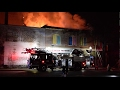 Large fire burns commercial building next to Douglas Heights Apartments in Chattanooga
