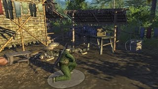 Men of War Vietnam - NV campaign walkthrough - Mission 2 - Vietnamese Connection 4/5