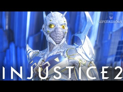 """THE LEGEND OF THE BEST BLUE BEETLE MASK! - Injustice 2 """"Blue Beetle"""" Epic Gear Gameplay"""