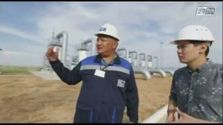 ''ҚазТрансГаз'' АҚ -  Газ тасымалдау жүйесі 24 KZ телеарнасы ''Транспорт және логистика'' бағдарламасы