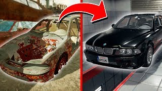 ВОССТАНОВИЛ ЗАБРОШЕННУЮ В САРАЕ МАШИНУ BMW M5 E39 ?! (Car Mechanic Simulator 2018)