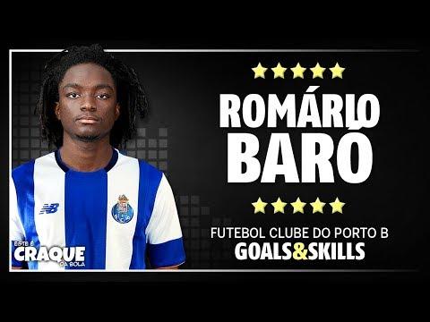 ROMÁRIO BARÓ ● FC Porto B ● Goals & Skills