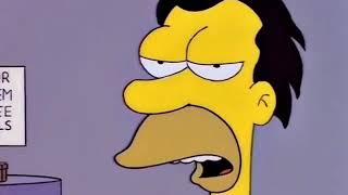 The Simpsons- You'd better run, egg!