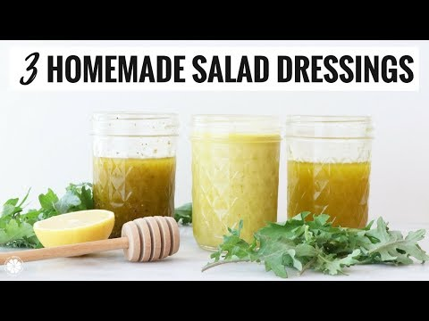 Easy, Healthy Homemade Salad Dressings: 3 WAYS | Gluten-Free, Dairy-Free | Healthy Grocery Girl