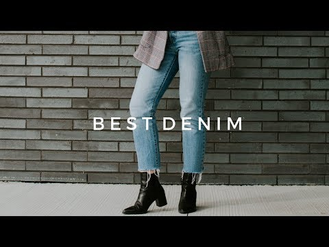BEST JEANS ft. LEVI'S, 501s, URBAN OUTFITTERS, CITIZENS OF HUMANITY + TRY ON (2018)