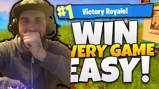 FORTNITE GLITCH HOW TO (WIN EVERY GAME) WITH INVISIBLE SKY BASE GLITCH