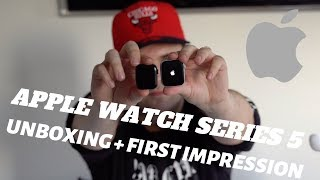 Apple Watch Series 5 - 44mm & 40mm Unboxing + First Impressions