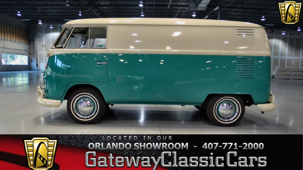 1963 Volkswagen Type 2 Gateway Classic Cars Orlando #149 - YouTube