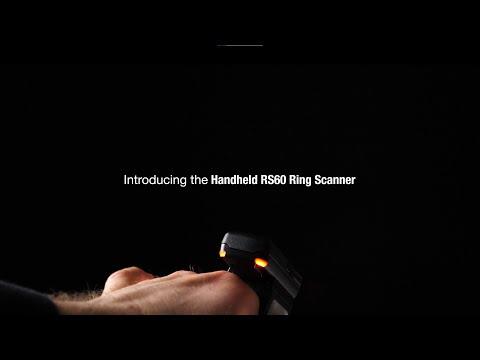 手持式引入了新的可穿戴RS60环扫描仪