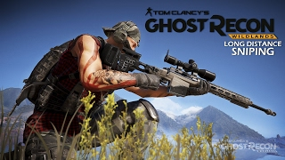 Long Distance Sniping (Record: 1001m) - Ghost Recon Wildlands