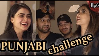 Speaking PUNJABI challenge (W/Simi & Yumnah) | Podcast