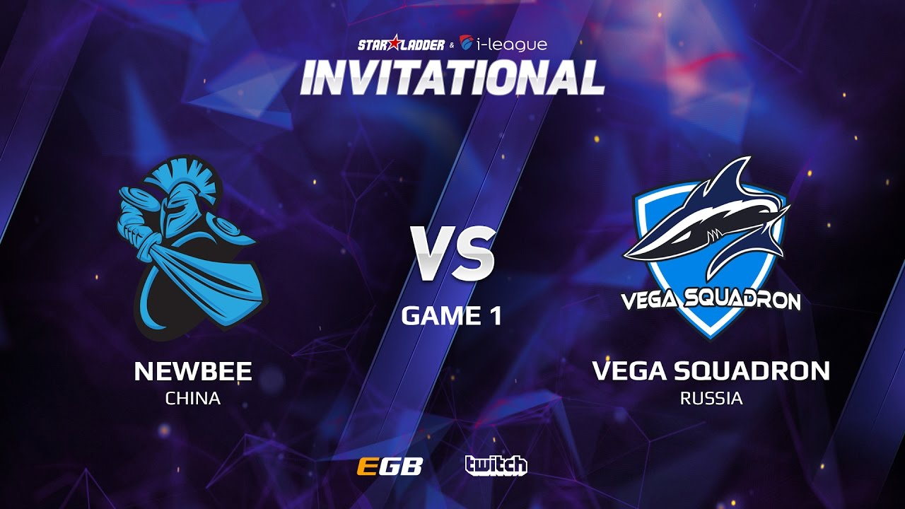 Newbee vs Vega Squadron, Game 1, SL i-League Invitational S2 LAN-Final, Group B