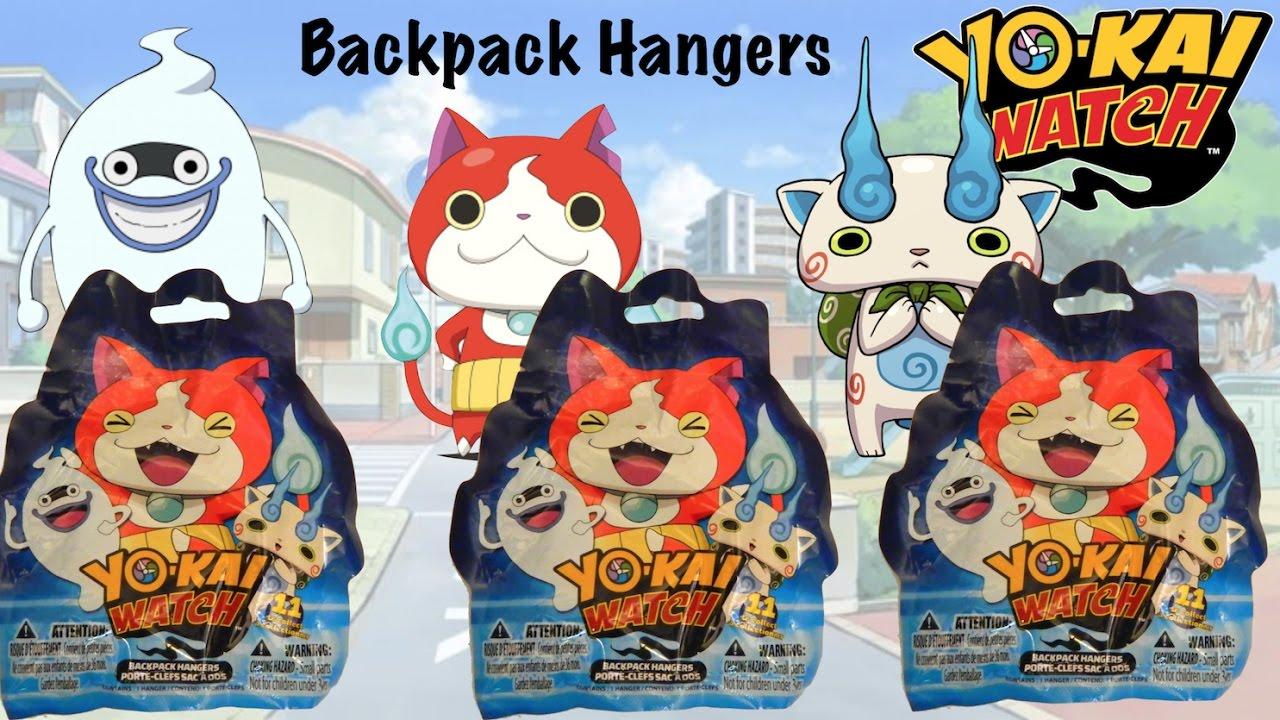 Yo Kai Watch Backpack Hangers