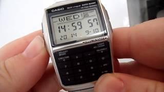 Casio DBC 32 Calculator Watch