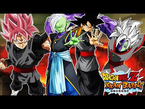 THE ZERO MORTAL PLAN COMMENCES! ALL GOKU BLACK'S AND ZAMASU'S IN  ONE TEAM! DBZ Dokkan Battle
