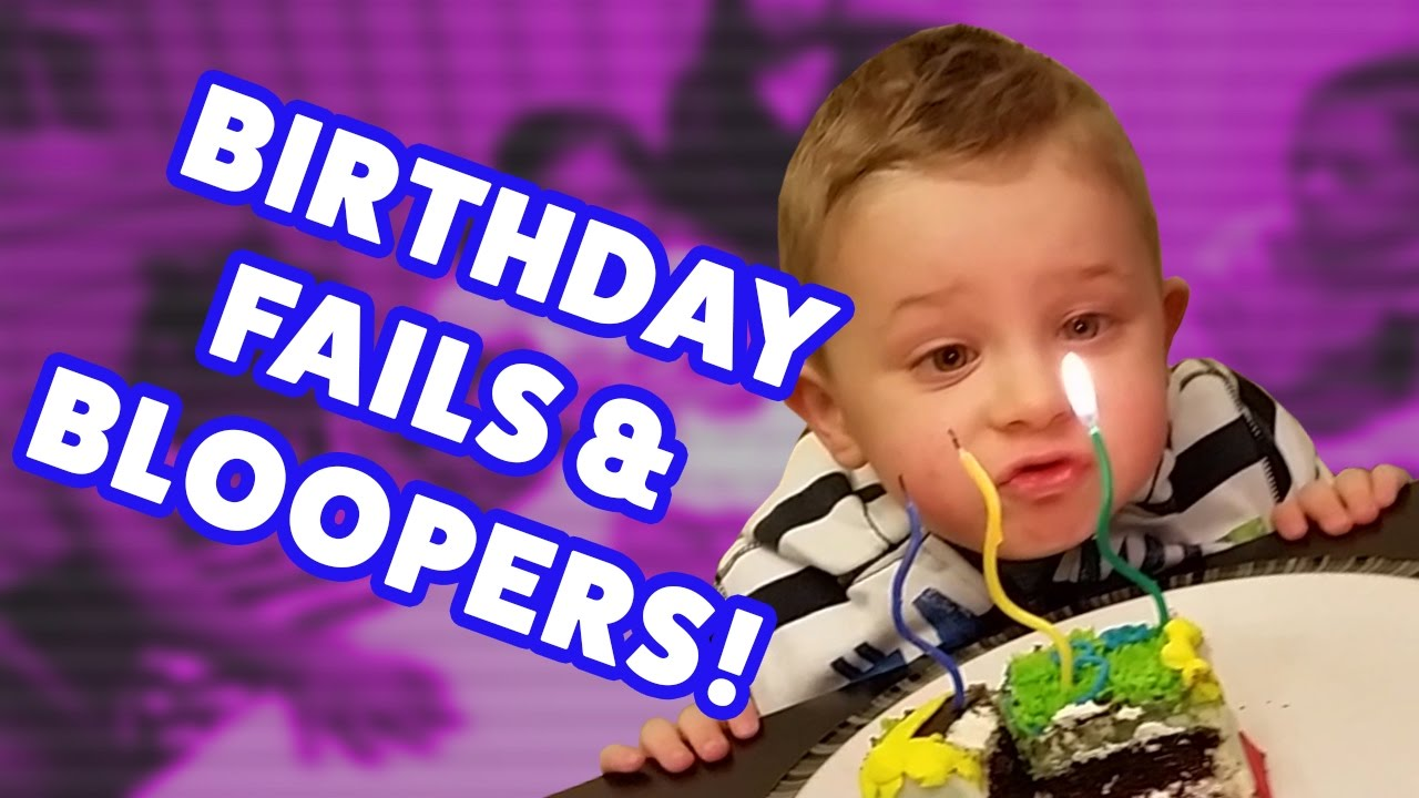☺ AFV (NEW!) Funniest Birthday Fails and Bloopers of 2016 (Humorous Clips Fail Montage)