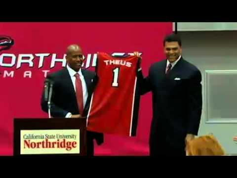 MBB: Reggie Theus Introduced as the New CSUN Head Coach