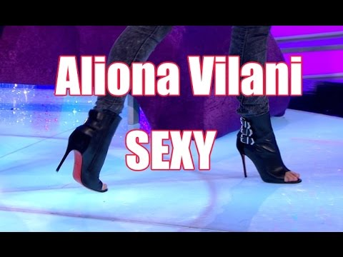 Aliona Vilani Sexy High Heel Boots Open Toe Leather Louboutin
