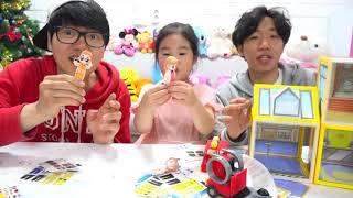 보람이 코난 또치의 플레이하우스 장난감 놀이 BoramTube