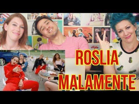 ROSLIA - MALAMENTE - REACTION