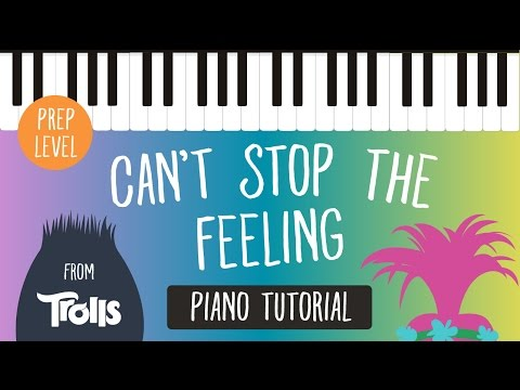 Can't Stop the Feeling (Justin Timberlake) - Super Easy Piano Tutorial - Hoffman Academy