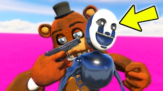 OLD FREDDY BETRAYS NIGHTMARE PUPPET! (GTA 5 Mods For Kids FNAF Funny Moments)