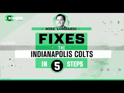 How to Fix the Indianapolis Colts in Five Steps | Michael Lombardi | The Ringer