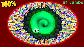 Slither.io World Record - Slitherio Epic Gameplay 957,270 Score A.I