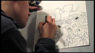 Speed Drawing: Adventure Time Cover!
