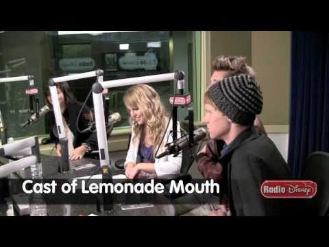 "Lemonade Mouth - Favorite Song - Radio Disney Take Over - Part 2 ""Somebody"""