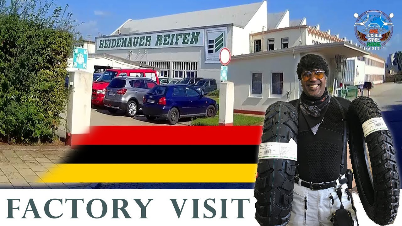 world ride 2017 ep 61 heidenau tyres factory visit germany youtube. Black Bedroom Furniture Sets. Home Design Ideas