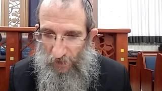 הרב ברוך וילהלם - תניא - אגרת התשובה - תחילת פרק ח