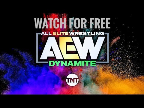Watch AEW Dynamite For Free & Other Wrestling Shows Too.
