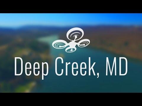 Deep Creek Maryland by Drone