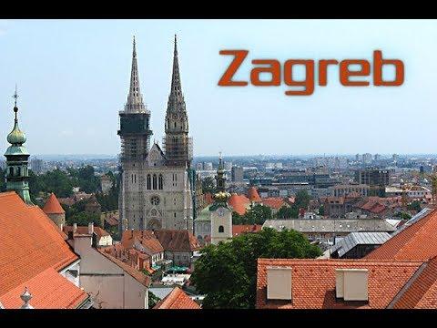 Walking Tour of #Zagreb Croatia | Walking Nice