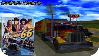 The King of Route 66 - Gameplay & Intro Movie HD - PlayStation 2