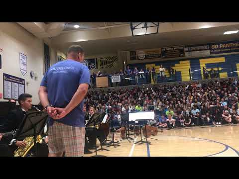 Mead High School 2018 Jazz @ Assembly