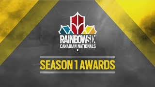 Rainbow Six Canadian Nationals: Season 1 Awards | Ubisoft [NA]