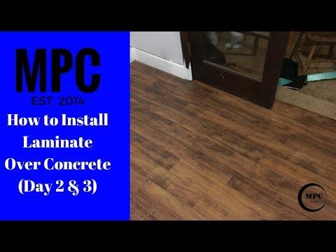 Installing Hardwood Floors On Concrete Doovi