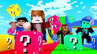 Minecraft LUCKY BLOCK CHALLENGE!