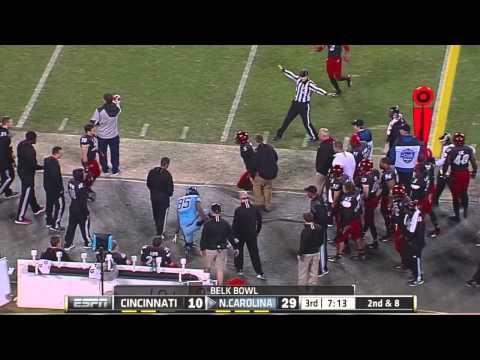 UNC Football: Full Game Highlights vs. Cincinnati